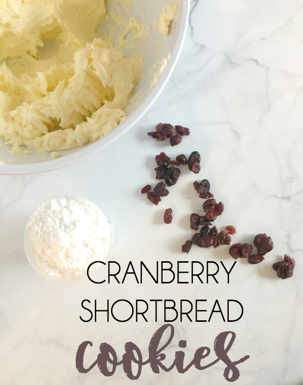 The Best Cranberry Shortbread Cookies - Modern Mama