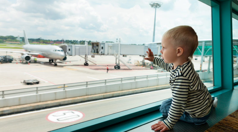 air travel tips with little ones