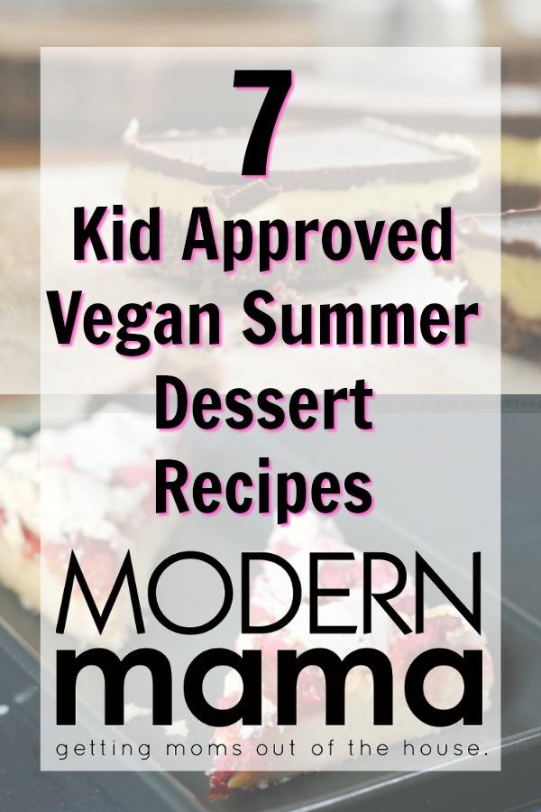 Vegan Summer Dessert Recipes
