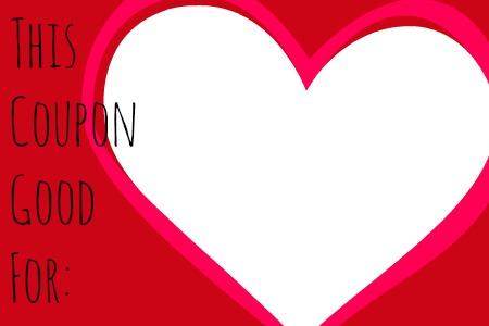 Valentine's Coupon Book! - Modern Mama