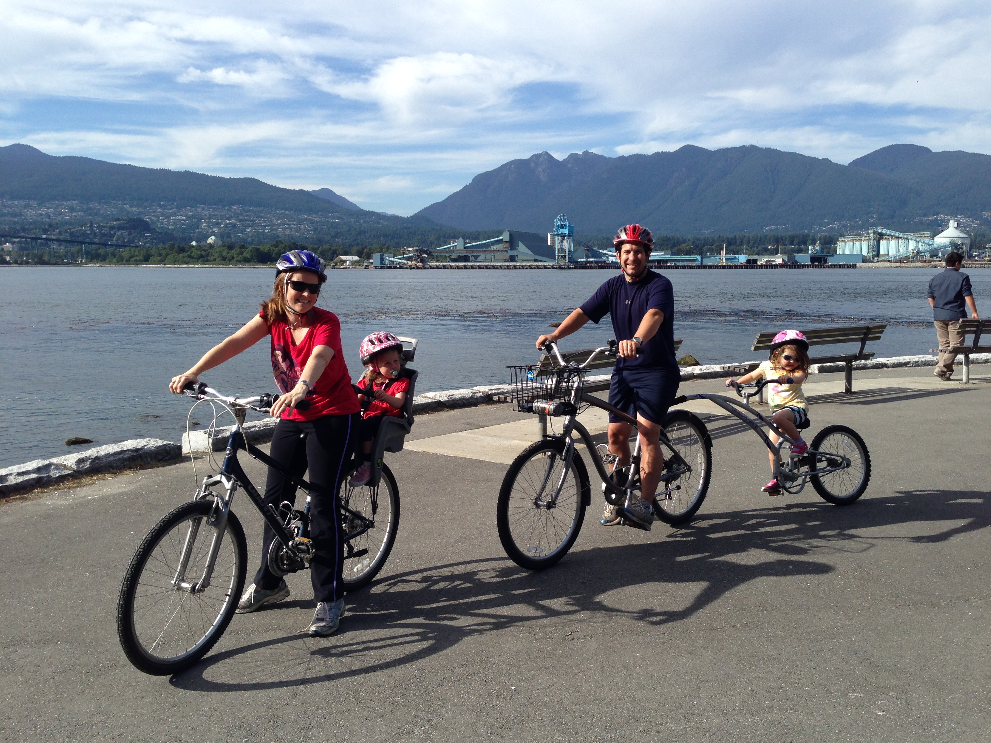 Review Giveaway English Bay Bike Rentals Makes Biking With Kids